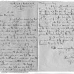 A letter to the mother of Cpl. Roy Montague Smith after his death written by Revd. Hook, Padre 43RM Cdo.
