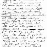 Part of a letter to his brother by Cpl Roy Montague Smith 43RM Cdo who was later killed in action