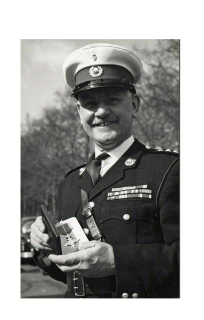 Captain George Leonard 'Percy' Bream BEM MBE RM