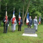 Le Hauger Amfreville, Calvados, 4/6/2012 - Col Dawson  OC No.4 Commando Memorial.