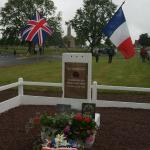 N°6 Cdo memorial ceremony 4/6/2012 Amfreville