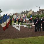 N°6 Cdo memorial ceremony 4/6/2012 Amfreville (2)