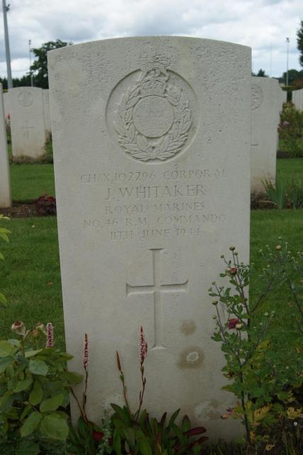 Corporal James Whitaker