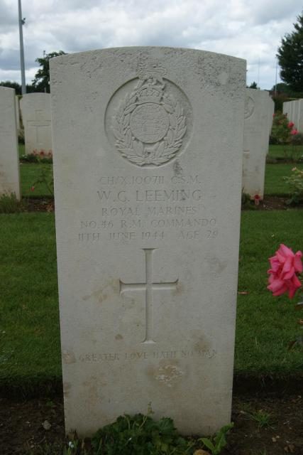 Sergeant Major William Cedric Leeming