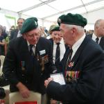 Reg Wise and others  Dieppe Anniversary 2012