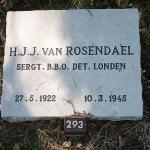 Sergeant Jack van Rosendael