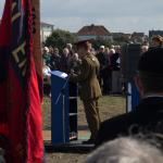 General Sir David Richards addresses the gathering