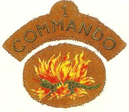No 1 Commando patches
