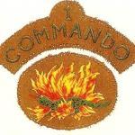No 1 Commando patches