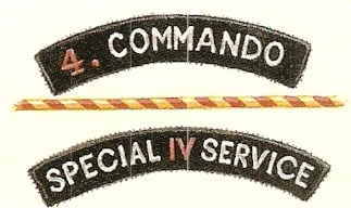 4 Commando shoulder titles
