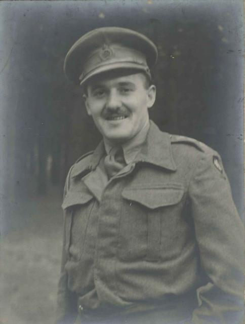Robert Holmes as a Royal Engineers Captain attd. to  No.1 SS Bde