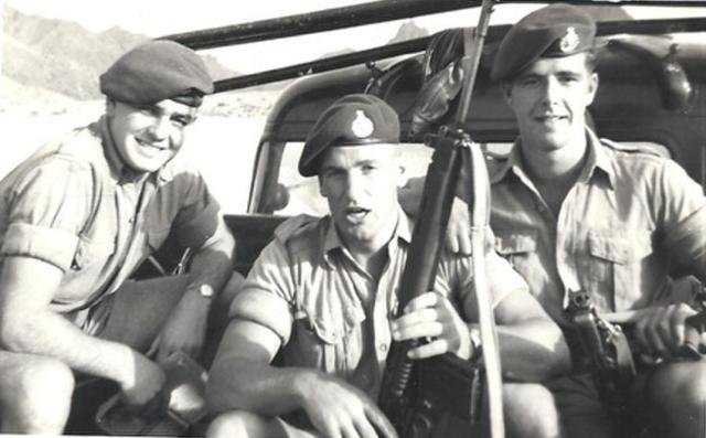 Edward Casey and others, 45 Commando RM, Dhala 1961