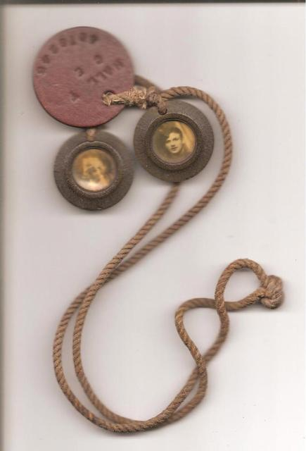 Dog tags of Pte. Tom Hall  No. 1 Commando