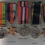 Medals of John Strain  No.1 Commando 3 troop