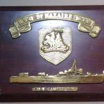 HMS Campbeltown plaque