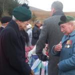 No9 Cdo Veterans, Spean Bridge Remembrance Service