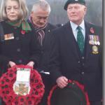 Jenny Barlow & Ernie Mason, No3 Cdo, Spean Bridge Remembrance Service