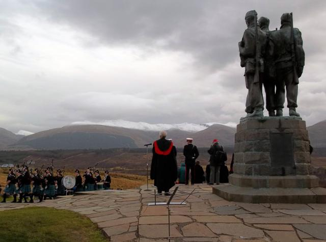Commando Memorial, Spean Bridge 2012 - 21