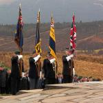 Standard bearers at Spean Bridge