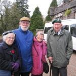 Janet Bishop, John Whyte, Pam Scott, Harold Nethersole
