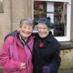 Pam Scott and Janet Bishop
