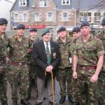 Scotty and Sappers at opening of Commando Gallery