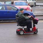 Harold speeding