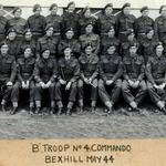 No 4 Commando B Troop. Bexhill 1944.