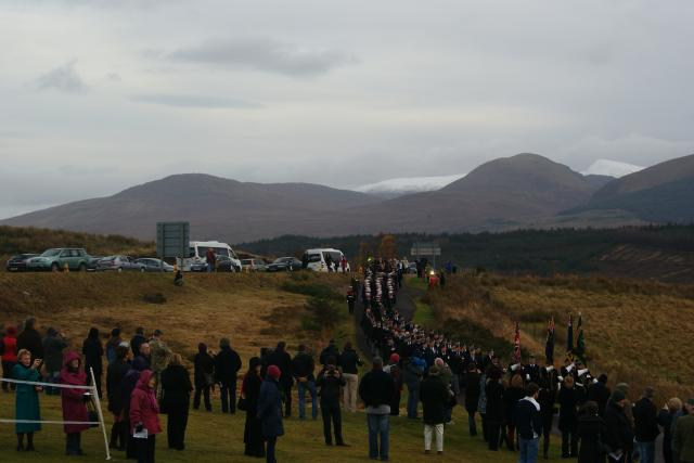 Commando Memorial, Spean Bridge 2012 - 26