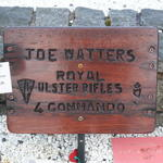 In Memory of Joe Watters  No.4 Commando
