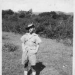 Fred Goode, at the Bush Warfare School, Burma 1941