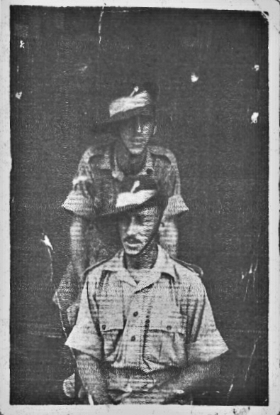 L/Cpl Murray and Fred Goode, No8 Cdo & SSD II