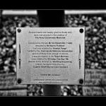 Army Commando Memorial plaque for those who helped