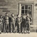 Some of 4 troop in Ayr 1941