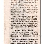 Newspaper cutting (3) re Arnold Howarth BEM, No.2 Cdo