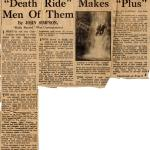 Daily Record article on Commando traing 15th Jan'43