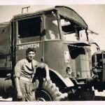 Stanley Martin & truck, Egypt