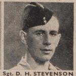 Sergeant Donald Henry Stevenson