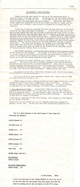 46RM Commando Newsletter 12/84