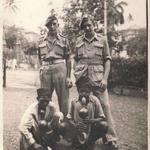 Hugh 'Blake' MacKenzie (left) and Tag Barnes 15th July 1944