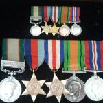 Bill Wright's Campaign Medals and minatures