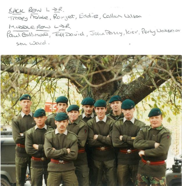 59 Independent Commando Squadron RE team for the Cambrian Patrol1993