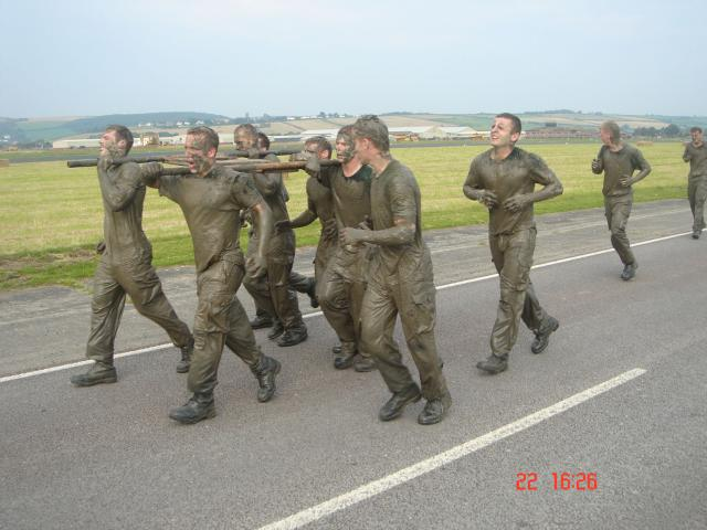 Commando training