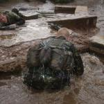 Commando Sappers at the Water Tank