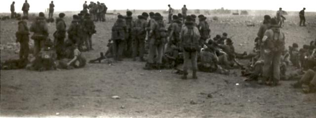 45 Commando RM on an exercise in Libyan desert circa 1960s