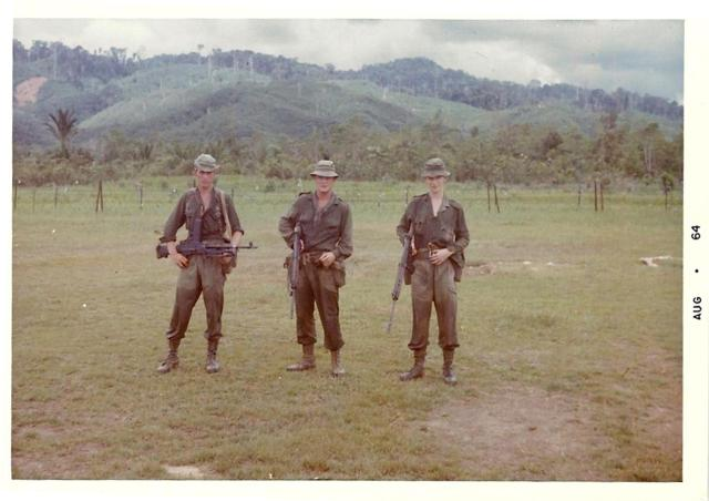 42 Commando RM Borneo and Singapore (2). August 1964