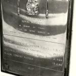 42 Commando RM plaque for those killed Sarawak 1963/4