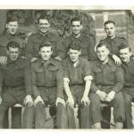 Ivor Turner and others at Albany Barracks