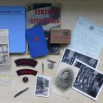 Collection of items relating to Tommy Simpson No.2 Cdo