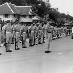 Guard of Honour at Limbang 3rd August 1963 (2)